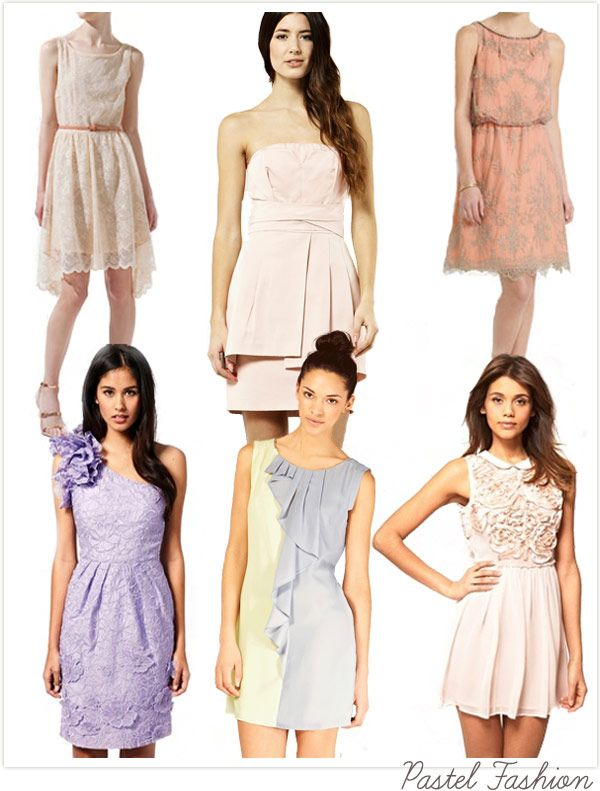Pastels Rule The Catwalks This Season So You Ll Find Perfect Pastel Wedding Guest Dress For A Ladylike Loo