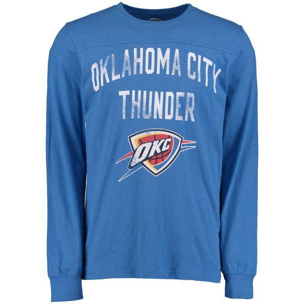 Men's Hands High Blue Oklahoma City Thunder Long Sleeve T-Shirt