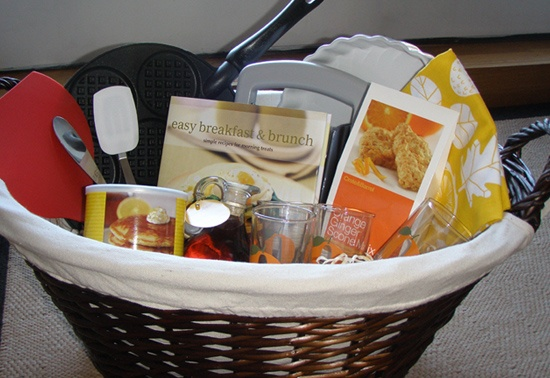 Perfect Brunch Gift Basket For Cuzins Around The Clock