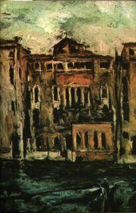 Gheorghe Petraşcu - Peisaj din Veneţia
