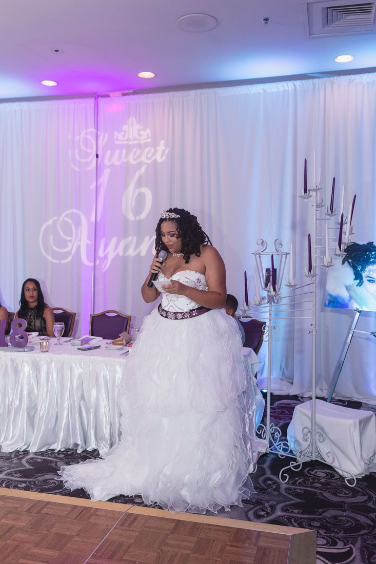Winter Themed Sweet Six At The Castle Hotel Captured By Orlando Wedding Photographer