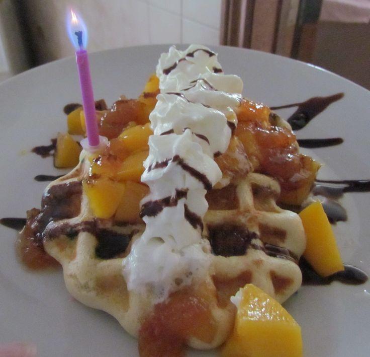 A Birthday breakfast
