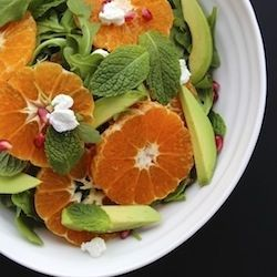 ... Orange, Avocado Arugula, Orange Avocado Salad, Healthy Food, Arugula
