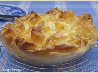 Croustillant aux pommes avec de la Pâte Filo, Façon Strudel