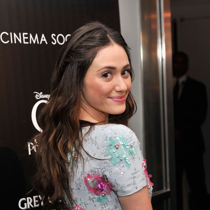 Emmy Rossum Wore a Cute Twisted Hairstyle! And There's a, Er, Twist to It!: Girls in the Beauty Department