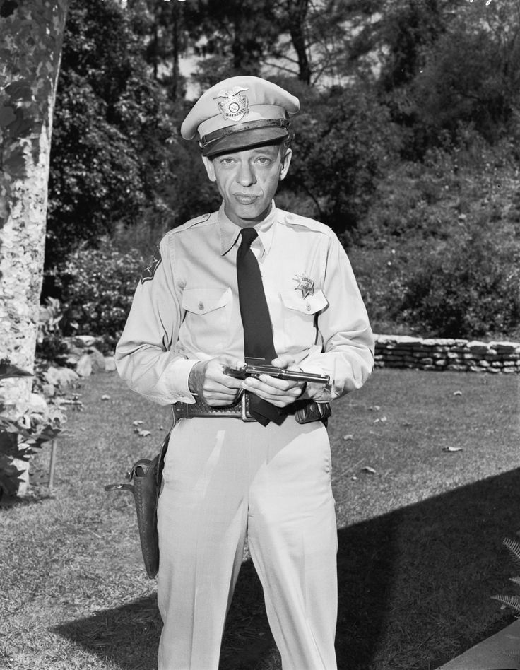 """Barney Fife""   My sister and I were watching the first season of the Andy Griffeth show this weekend. We laughed way too hard. :)"