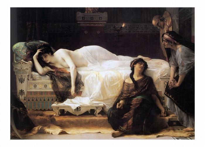 Phaedra 1880 by Alexandre Cabanel Wall Art from Truly Art | Cabanel, Oil  painting gallery, Art painting