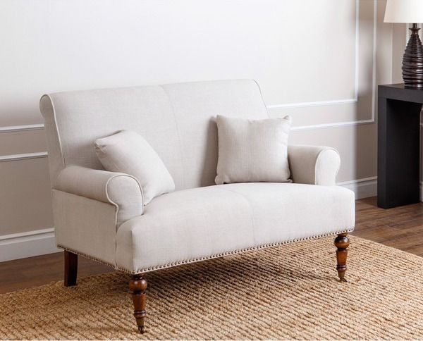 Best 25 couches for small spaces ideas on pinterest for Bedroom loveseat