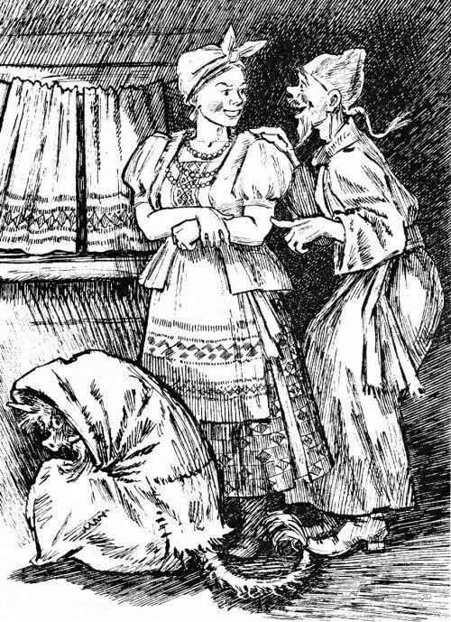 Aleksandr Kuzmin  Иллюстрации  Н.Гоголь  Ночь перед Рождеством