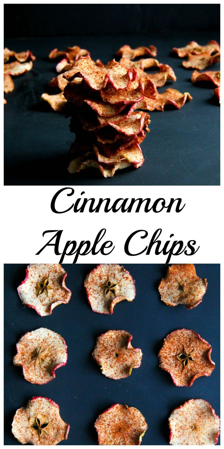 These apple chips are a quick healthy snack that I can grab on the go, or snack on at home. Purchasing apple chips in the store can get expensive.