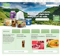 Visit the Island Farms website!