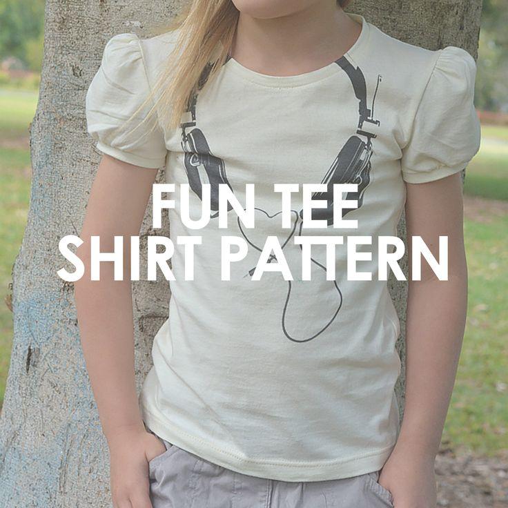 246 besten Sew Patterns: Knit Fabric: Kids Bilder auf Pinterest ...
