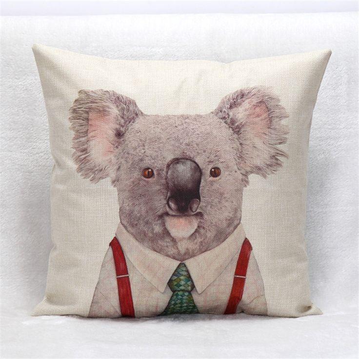 Animal Cushion Covers