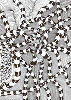 539 Zentangle Calamar