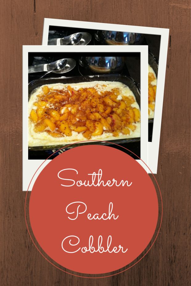 Southern Peach Cobbler Recipe - Merry About Town