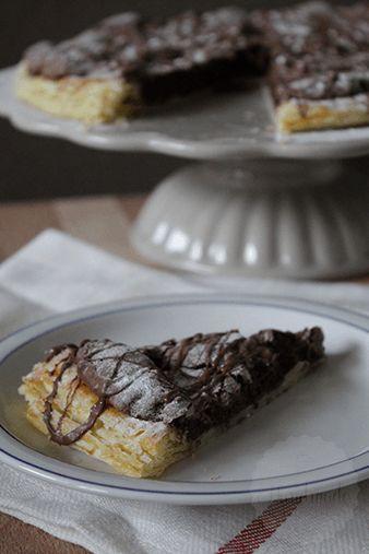 Brownie taart | HandmadeHelen
