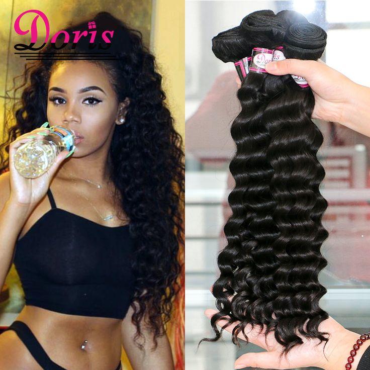7A Mink Peruvian Virgin Hair 4 bundles beach wave More wavy human hair King Wet and Wavy Water Wave Human Hair loose wave deep
