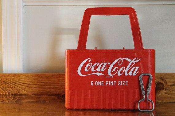 Vintage Coke Bottle Carrier / Vintage Coke par SonderVintage