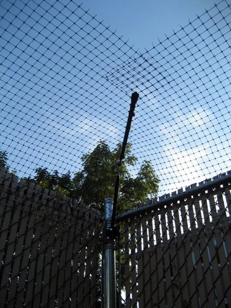 purrfect fence photo gallery a corner