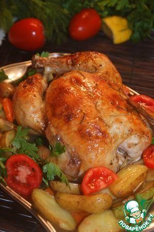 Секретная курица-2  рецепты с пошаговыми фотографиями процесса приготовления