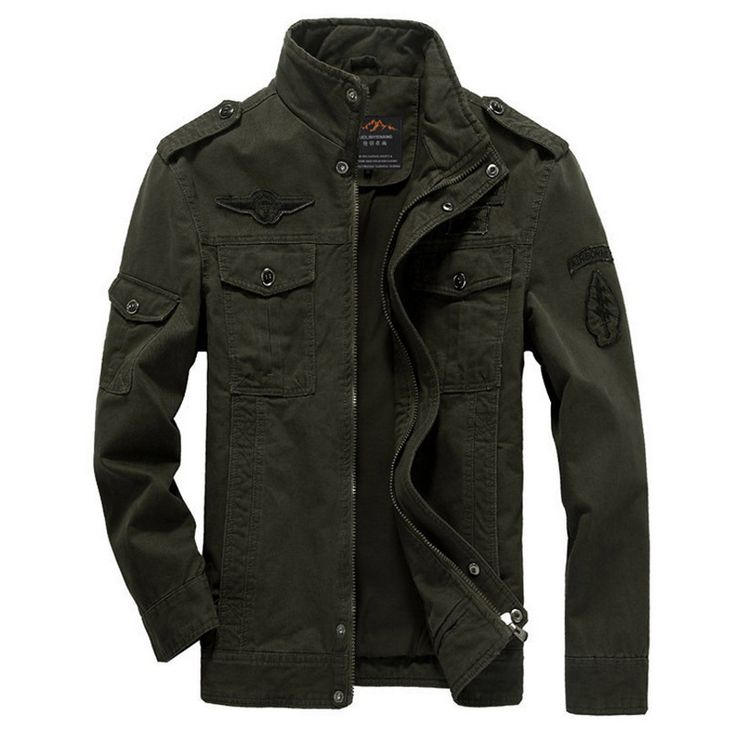Jacket Men Military Army jackets jaqueta masculina plus size 6XL windbreaker coat mens bomber jacket for aeronautica militare