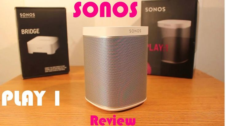 Sonos Play 1 Review- Wireless Home Sound System