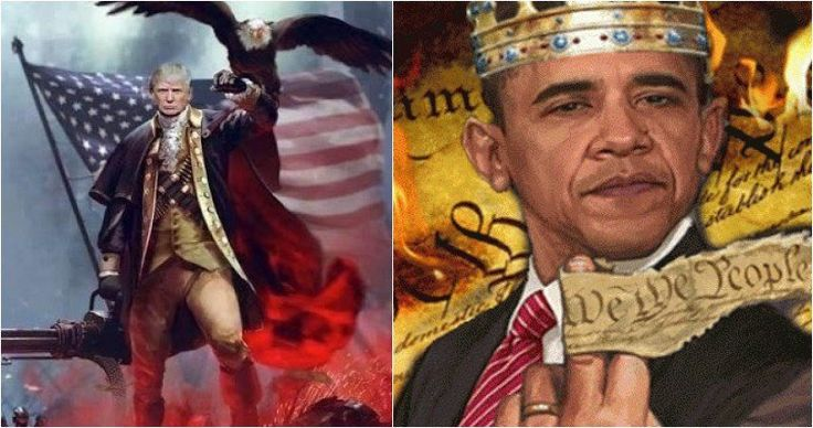 One patriotic American, who held to his Christian faith, believed that past presidents warned us about evil forces taking over America, which propelled Barack Obama to take over our country. He believed God could intervene to stop these evil forces, and he expressed this prophecy in a unique way back in 2010. His prophecy came full circle, and Donald Trump just received a unique gift that will blow your mind.