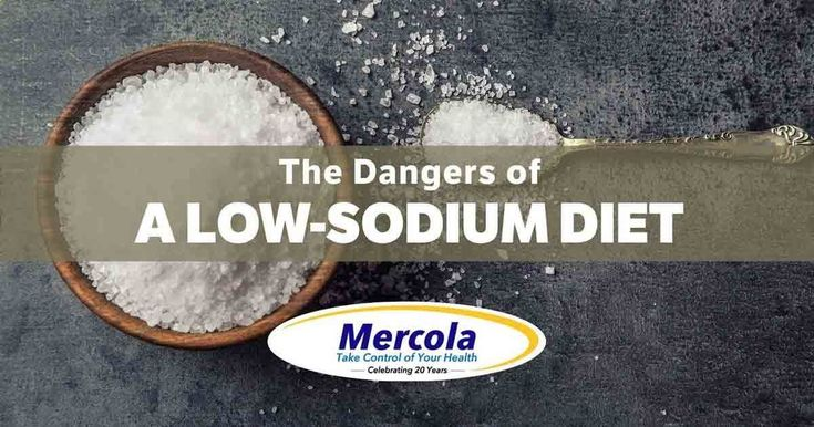 Why a Low-Sodium Diet Might Wreck Your Health - Salt has been wrongly demonized as a contributor to high blood pressure; symptoms of sodium deficiency include muscle fatigue, spasms and heart palpitations. articles.mercola....