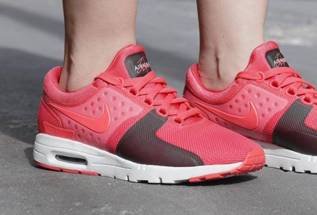 http://SneakersCartel.com Nike Air Max Zero in Pink and Dark Brown #sneakers #shoes #kicks #jordan #lebron #nba #nike #adidas #reebok #airjordan #sneakerhead #fashion #sneakerscartel