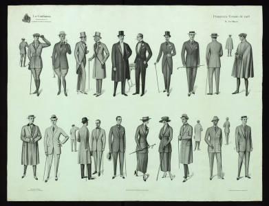 Figurines de moda :: Cartells (Biblioteca de Catalunya)