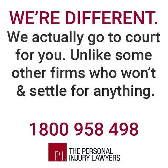 Some firms won't take your claim to court & just settle for less which is less for you! Find out why we're different. 1800 958 498  #injury #help #lawyers #legal #personalinjury #personalinjurylawyers #goldcoast #brisbane #australia #compensation #illnesses #complications #workinjury #accident #backinjuries #motoraccident #roadaccidents #rehabilitation #rehab #neckinjury #witnesses #queensland #workinjury