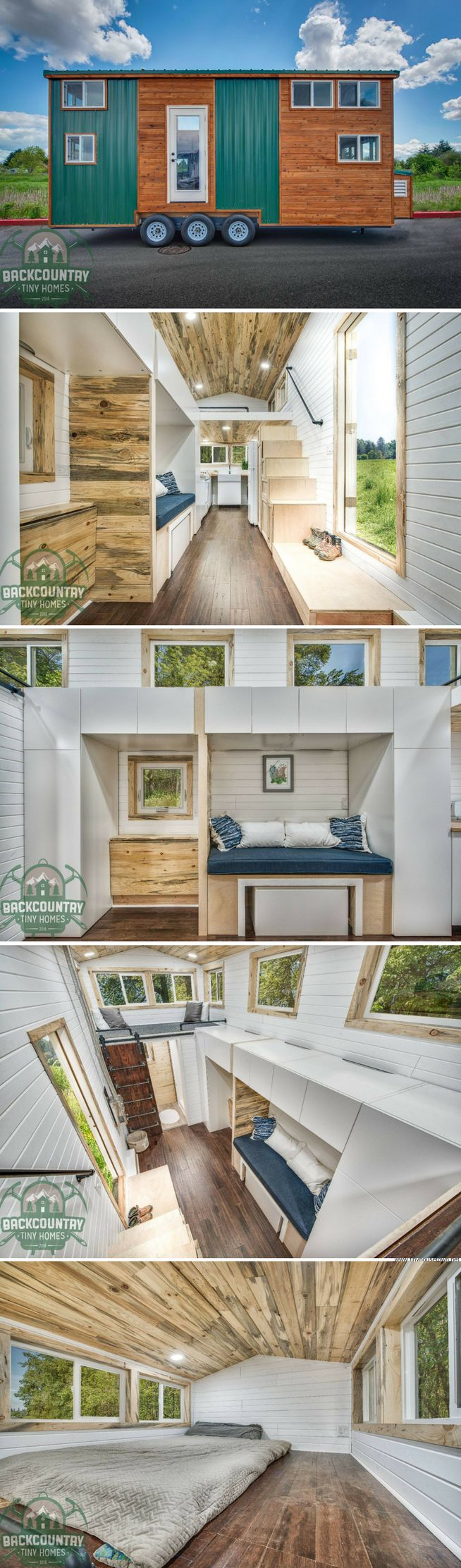 The Juniper from Backcountry Tiny Homes (290 sq ft)