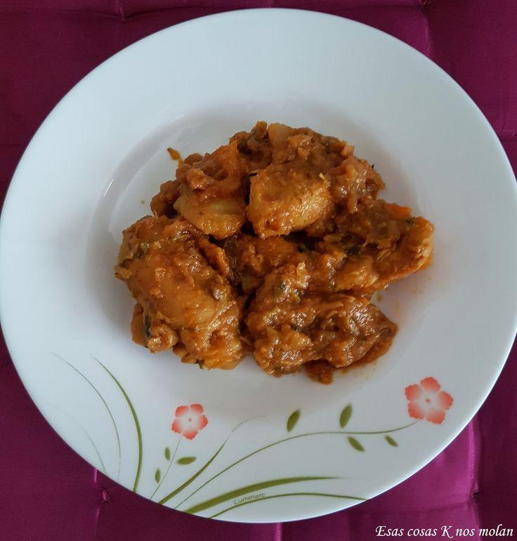 Esas cosas K nos molan: Cómo hacer pollo al curry con patatas