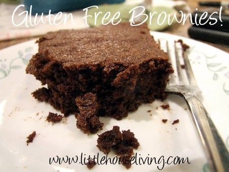 """Easy Chocolate """"Brownies"""" (Gluten Free) which actually turned out to be really good cake! :)"""