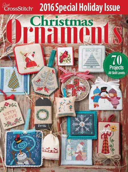 Just Cross Stitch 2016 Christmas Ornament Issue - Magazine