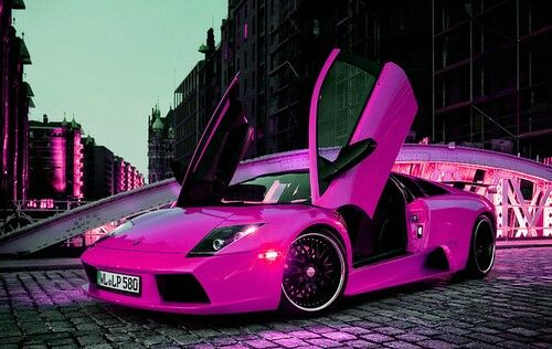 hot pink lambo cars trucks things that go pinterest sexy auto e rosa shocking - Lamborghini Black And Pink