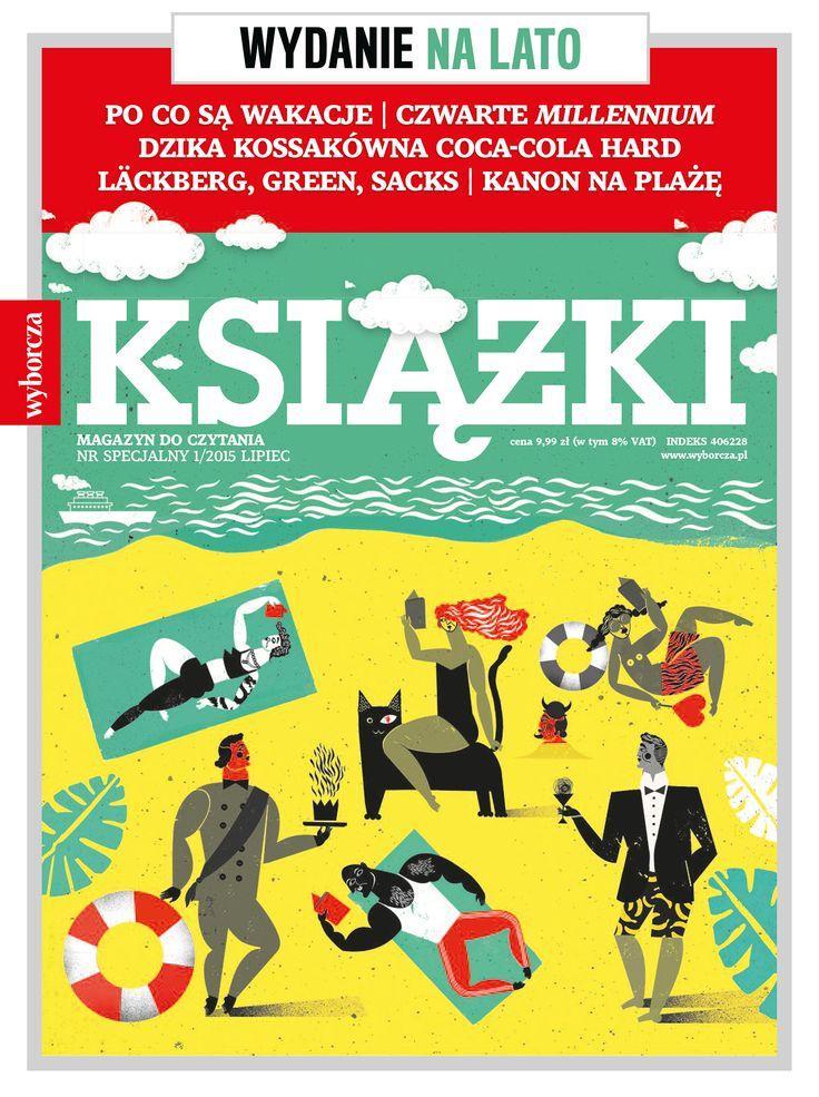 """Specjalne wakacyjne wydania """"Książek. Magazynu do Czytania"""".  W kioskach i innych punktach sprzedaży od 23 czerwca."""