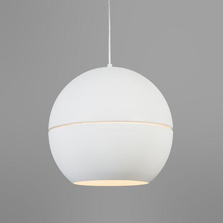 Hanglamp Slice 40 wit - Woonkamerverlichting - Verlichting per ruimte - Lampenlicht.nl 129
