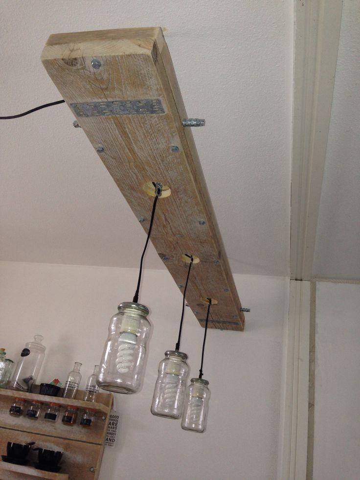 Steigerhout Lamp Steigerhout Made By Lad Pinterest Lamps