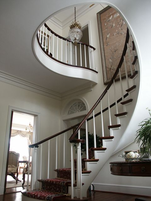 17 best images about georgian staircase on pinterest for Georgian staircase design
