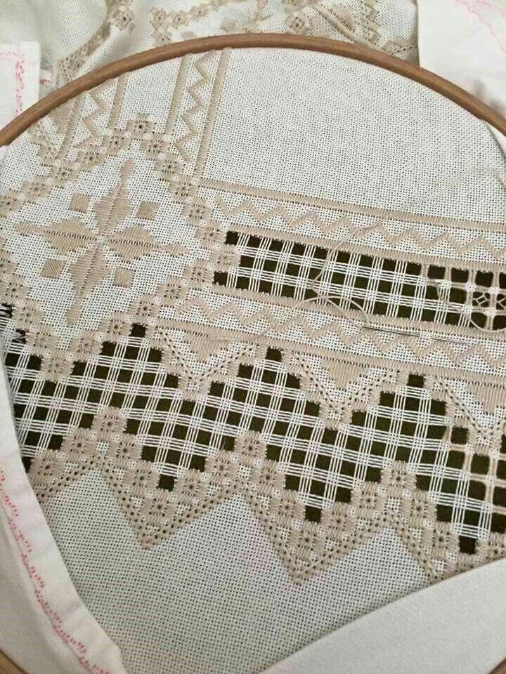 Resultado de imagen de hardanger embroidery