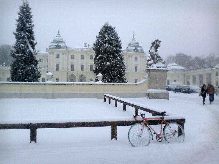 winter at Białystok