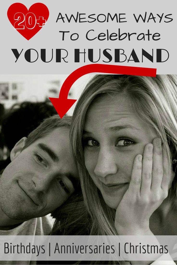 Birthdays, anniversaries, & Christmas! (marriage tips, husband)