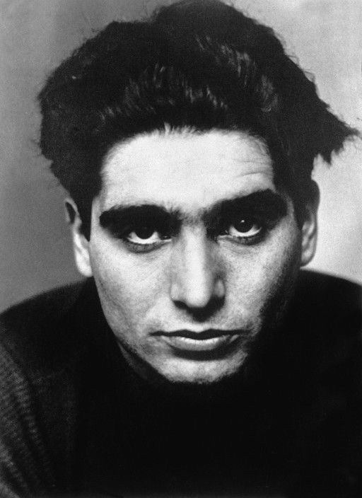 A portrait of Robert Capa taken in Paris at the end of 1934. Magnum Photos, uncredited.