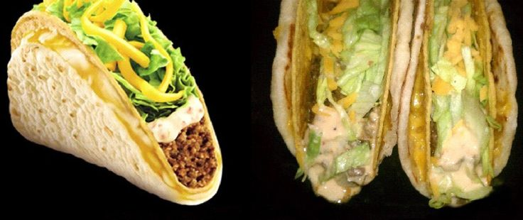 Taco Bell® Cheesy Gordita Crunch - Clone recipe.  Will make necessary GF/veg adjustments, but this is happening.