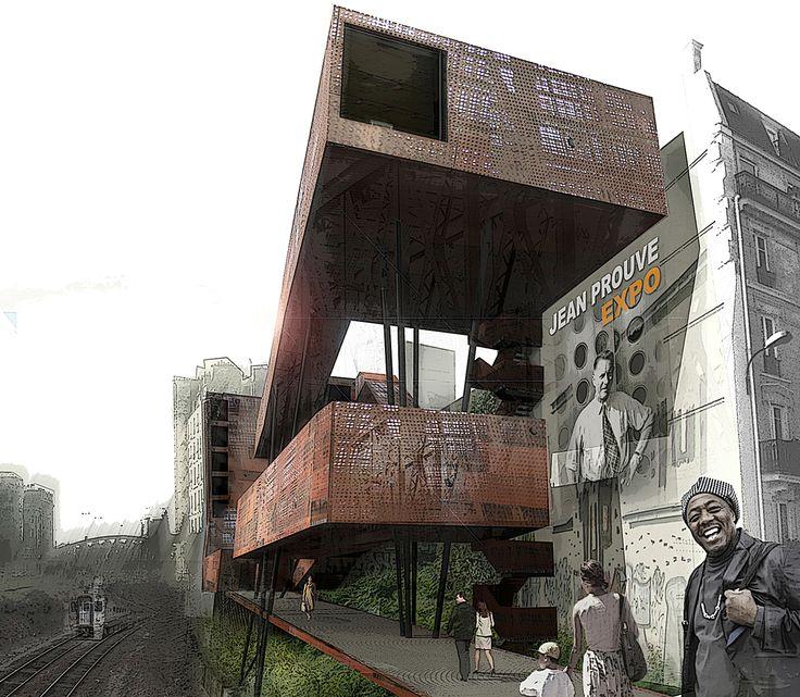 NADAU LAVERGNE ARCHITECTS • Center For Architecture, 2009 • http://www.nadaulavergne.com