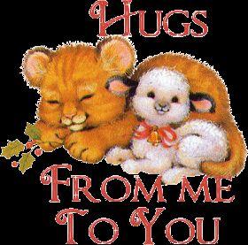 Hugs glitter gifs