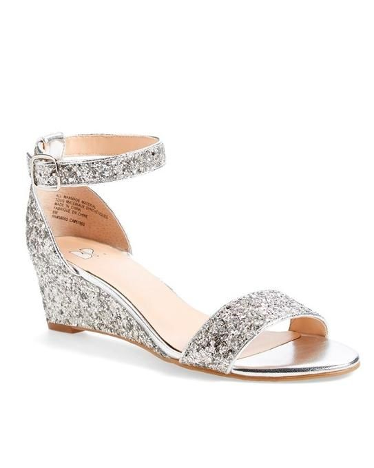 50 Best Shoes for a Bride to Wear to a Summer Wedding | Martha Stewart Weddings | BP. Roxie Wedge Sandal, $59.95; shop.nordstrom.com.
