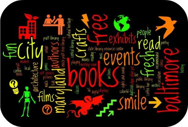 Enoch Pratt Free Library, Pratt Library Wordle 2: books and shapes and more: Pratt Free, Words Shape, Enoch Pratt, Libraries Wordl, Free Libraries, Book, Shape Boxes, Libraries Signs, Pratt Libraries