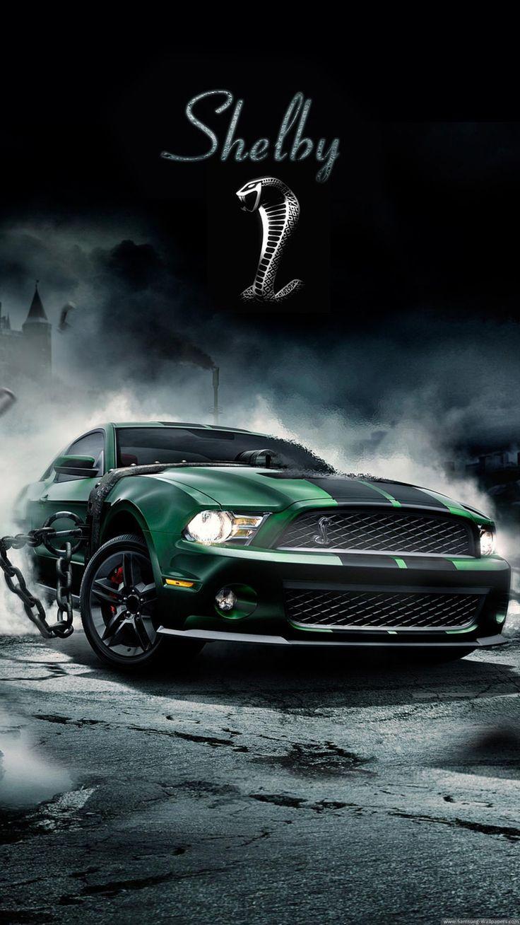 Captivating Shelby Cobra Muscle Car IPhone 6 Plus HD Wallpaper 1,080×1,920 Pixels